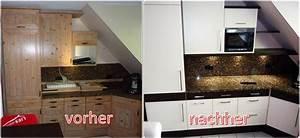 Küche Mit Folie Bekleben : folie k chenfront ~ Michelbontemps.com Haus und Dekorationen