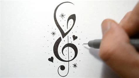 incorporate initials   notes tattoo design youtube