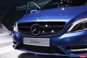 Mercedes Occasion Classe B Essence : restylage de la mercedes classe b l 39 occasion du mondial de l 39 auto mercedes benz auto ~ Gottalentnigeria.com Avis de Voitures