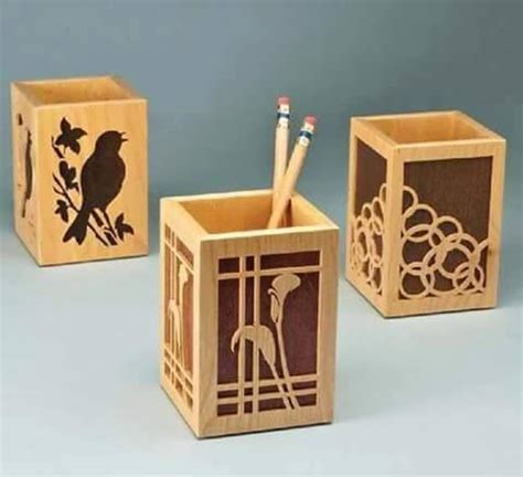 Wood Plans Pencil Box