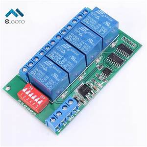 4 Channel Rs485 Multifunctional Delay Relay Module Dc 12v