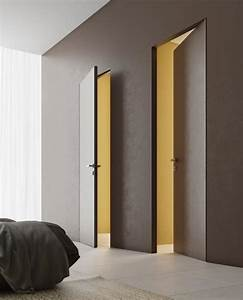 Wood Hidden Doors For House Wall Doors Bookcase Doors