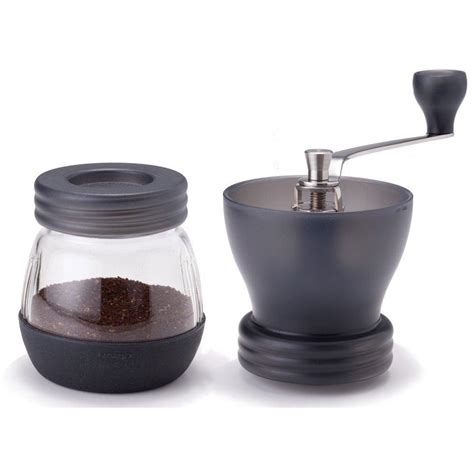 Manual coffee mill grinds beans to your desired texture. Hario Skerton Ceramic Coffee Mill Hand Grinder (100g) Black - Nomad Coffee Club