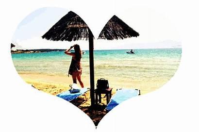 Summer Gifs Beach Transparent Animated Heart Brielle