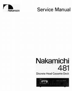 Nakamichi 481 Service Manual Pdf Download