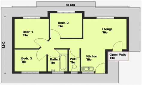 3 bedroom house plans one luxury 3 bedroom house plans 3 bedroom house plan south