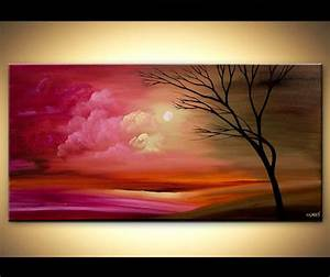 ORIGINAL Abstract Contemporary Tree Acrylic by ...