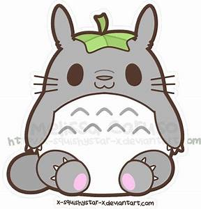 Chibi Totoro~   Miyazaki San   Pinterest   Chibi