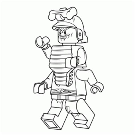 Lloyd Garmadon Free Coloring Pages