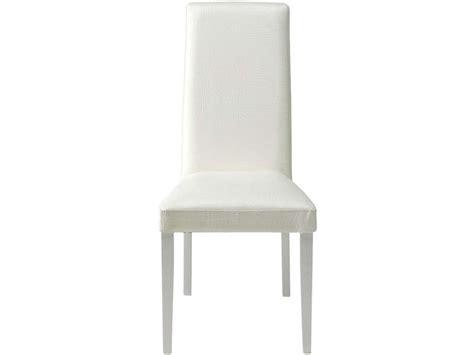 chaise dundee coloris blanc vente de chaise conforama
