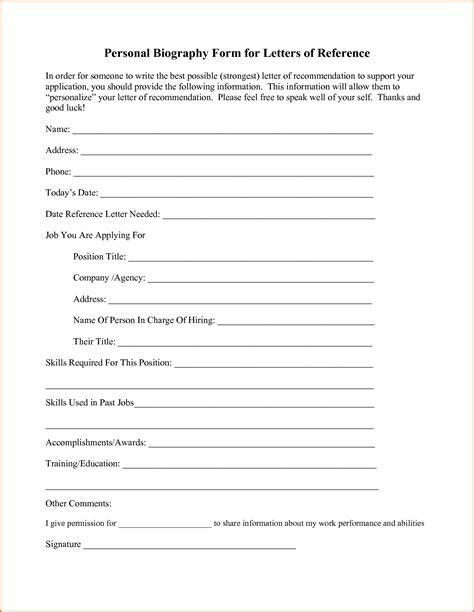 personal bio template 8 personal bio template authorizationletters org
