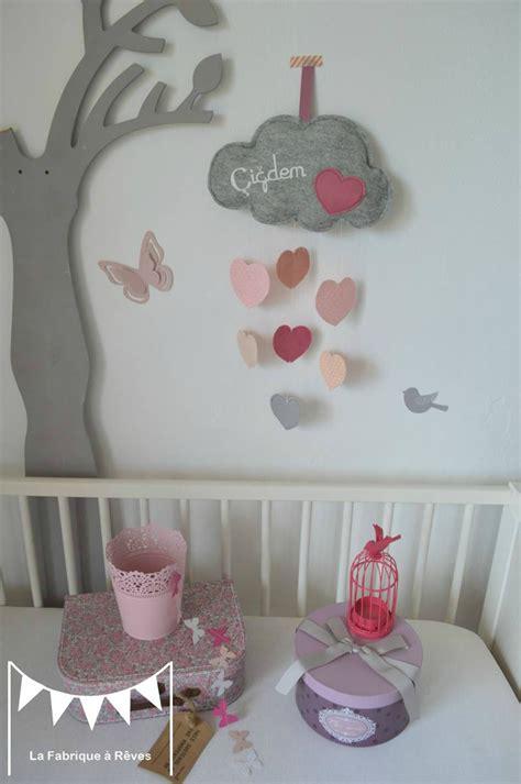 déco chambre bébé et gris idee deco chambre fille et gris