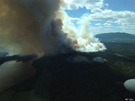 Heat Wave In Bc Brings Wildfires, Air Quality Advisory
