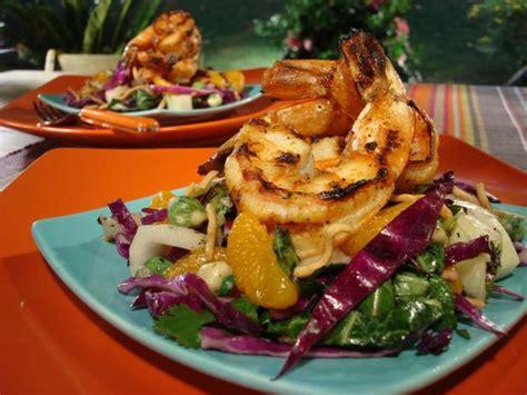 grilled thai chile garlic shrimp recipe food network