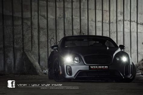 Bentley Continental Gt Gets Complex Vilner Tuning Package