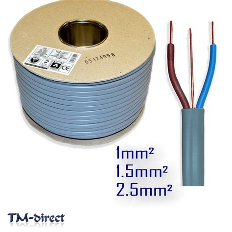 and earth electrical cable 6242y grey size length 3