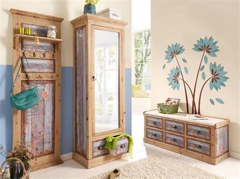 Garderobenschrank, Home Affaire, »vintage«, In Zwei Farben