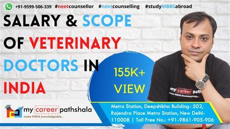 salary india veterinary doctors