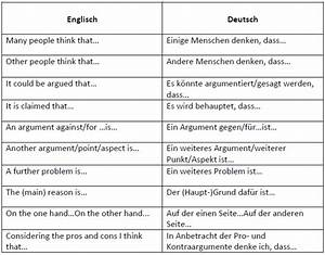 Besonders Auf Englisch : linking words und formulierungen zur argumentation ~ Buech-reservation.com Haus und Dekorationen