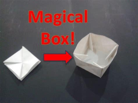 origami puzzle box instructions plans diy