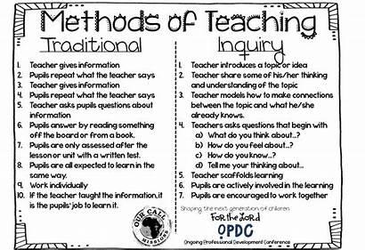 Inquiry Teacher Training Teaching Uganda Traditional Generation