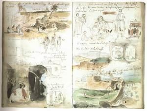 Carnet De Voyage Original : delacroix carnet de voyage au maroc jules de goncourt voyage en italie france croquis et ~ Preciouscoupons.com Idées de Décoration