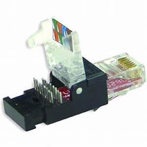 Cable Rj45 Cat 7 : cat6 rj45 tool less idc plug per each only ~ Melissatoandfro.com Idées de Décoration