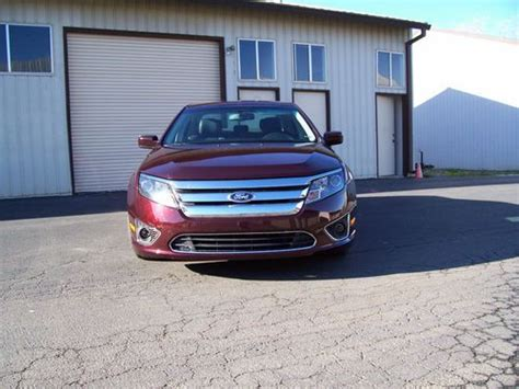 how things work cars 2011 ford fusion seat position control buy used 2011 ford fusion sel leather heated power seats sinc in redding california united