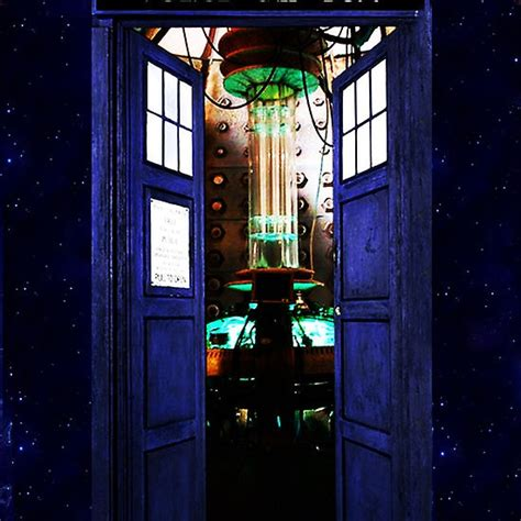 InsideTardis Doctor Who in Space