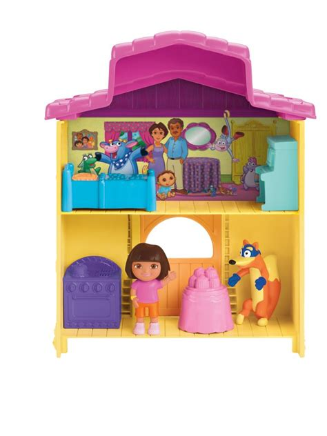 Amazoncom Fisherprice Dora The Explorer Explorer House