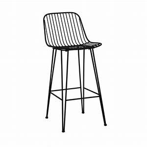 Chaise Design Metal : chaise de bar design en m tal 67cm ombra pomax drawer ~ Teatrodelosmanantiales.com Idées de Décoration