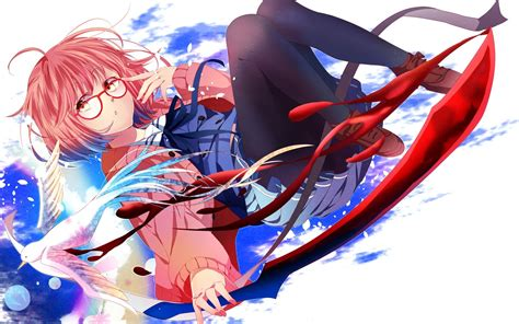 Girl anime Kyoukai no Kanata wallpapers and images