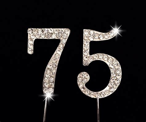 large rhinestone covered 75 75th 75th wedding anniversary quotes wishes poems cards