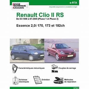Clio 4 Rs Phase 2 : revue technique renault clio ii rs rta site officiel etai ~ Maxctalentgroup.com Avis de Voitures
