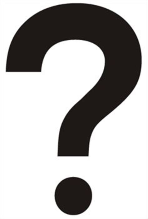 Question Mark Vector Free  Clipart Best