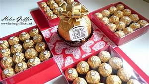 Tutorial   Valentine's Day Giant Ferrero Rocher Gift Box ...