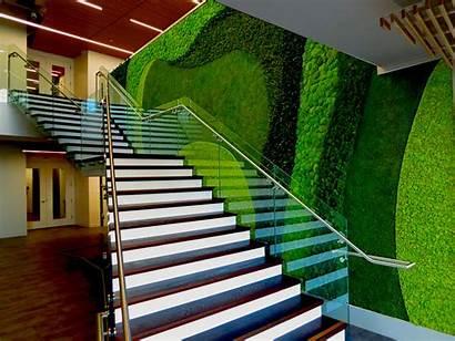 Wall Garden Interior Vertical Stair Delta Plants