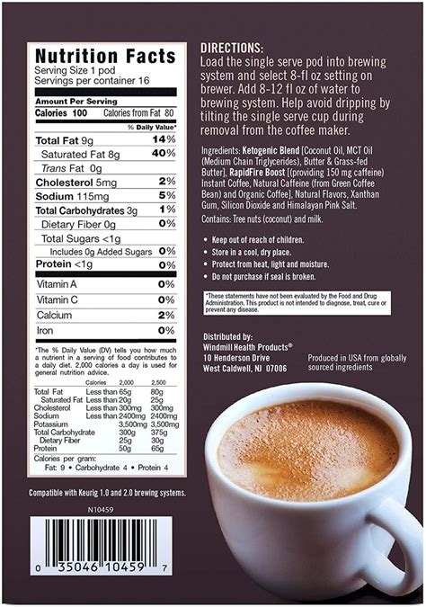 Canister (15 servings) 4.0 out of 5 stars 660. Rapid Fire Caramel Macchiato Ketogenic High Performance Keto Coffee Pods, Supports Energy ...