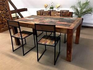 Rustikale Esstische Holz : esstisch aus altholz der tischonkel ~ Indierocktalk.com Haus und Dekorationen