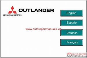 Mitsubishi Outlander 2007 Service Manual