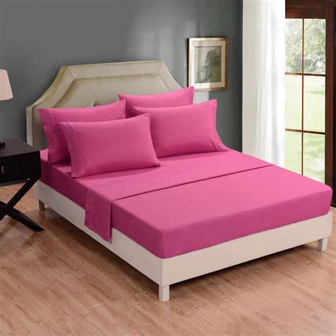 nhm006 honeymoon bed sheet set 6pc microfiber bedding