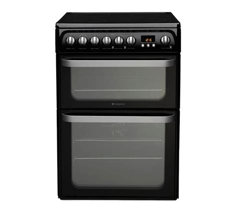 Buy Hotpoint Hue61k S Electric Ceramic Cooker Black
