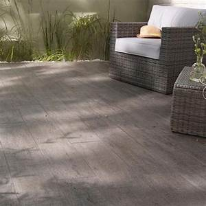 Carrelage Extrieur Bosko Anthracite 20 X 120 Cm