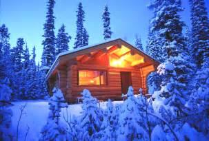 Rocky Mountain Winter Cabin