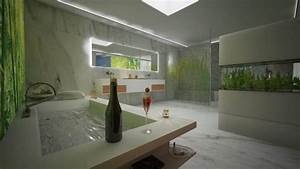 Bilder Für Das Bad : glas duschr ckwand statt fliesen in der dusche ~ Frokenaadalensverden.com Haus und Dekorationen