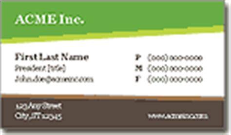 business card templates  microsoft word