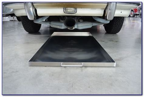 Garage Floor Oil Drip Pans   Flooring : Home Design Ideas