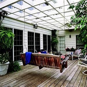 Schaukel Für Balkon : dekoideen f r veranda oder balkon coole einrichtungsl sungen ~ Lizthompson.info Haus und Dekorationen