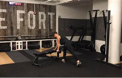 Row Dumbbell Weightlifting Exercises Arm Single Strength