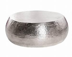 Table Basse Ronde Aluminium : table basse aluminium petite table basse ronde maisonjoffrois ~ Teatrodelosmanantiales.com Idées de Décoration